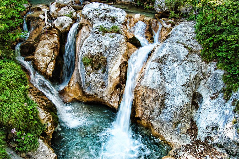 Tscheppaschlucht waterfall