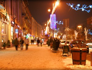 Christmas time in Targu Mures