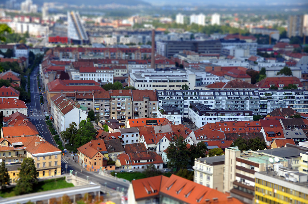 Ljubljana in miniature