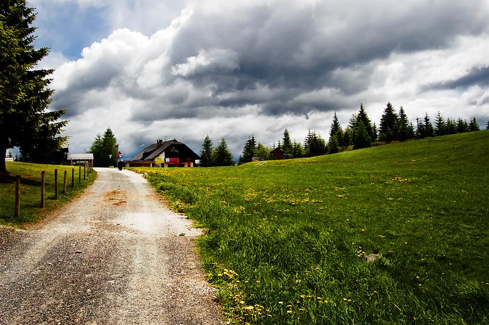 Up to Gerlitzen