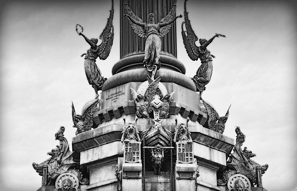 Monument in Barcelona