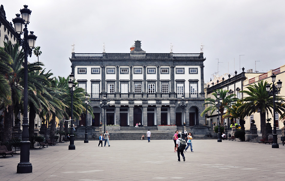 Historic building in Gran Canaria