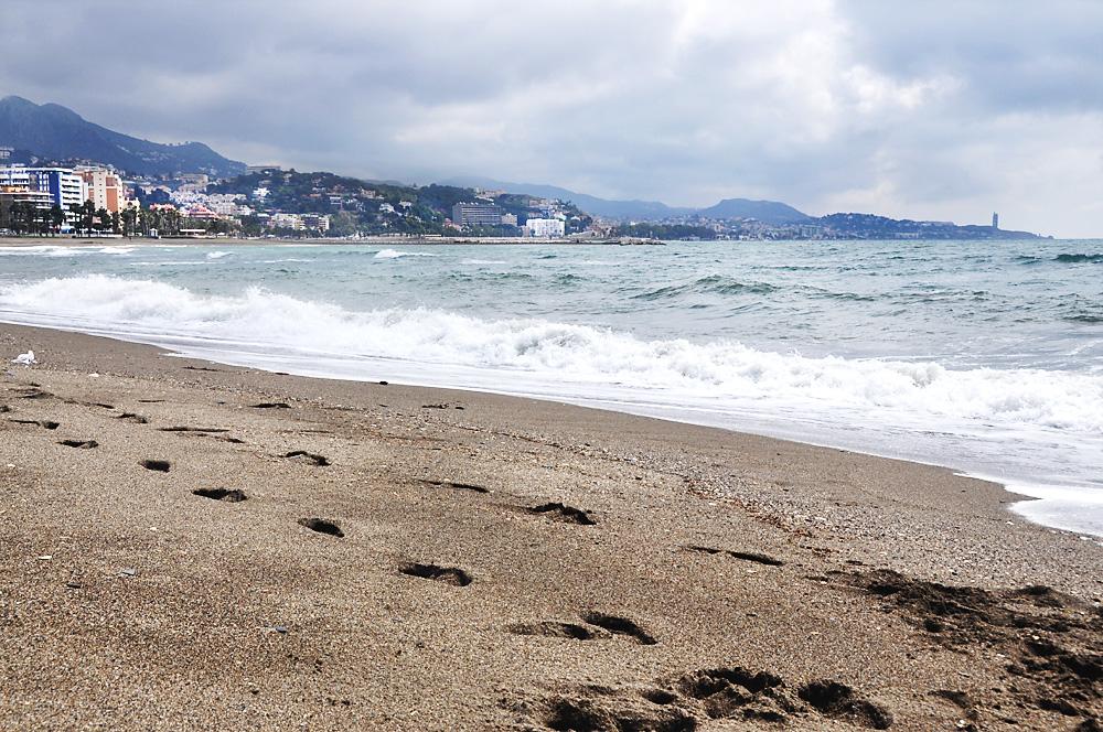 Malaga, beauty seaside