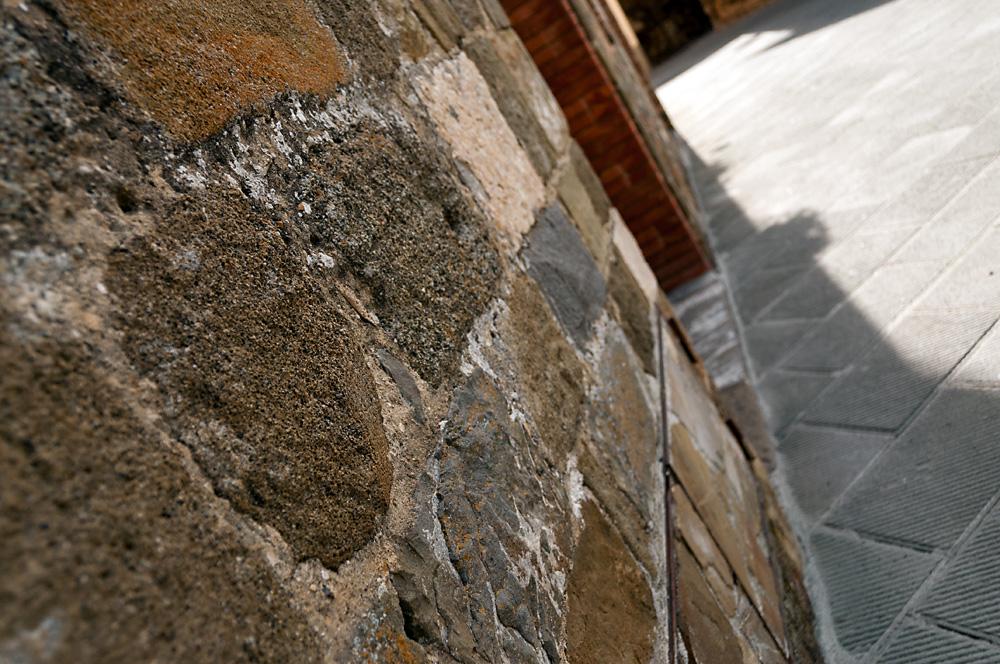 Old house bricks