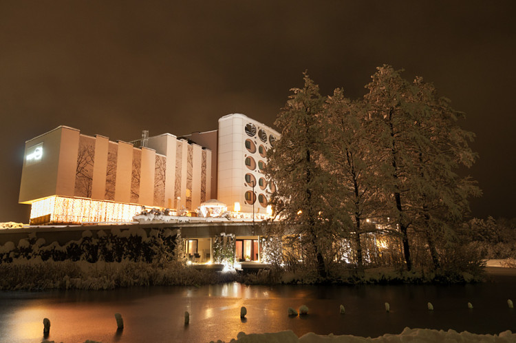 Winter season for hotel