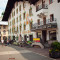 Traditional street view in Kitzbuehel