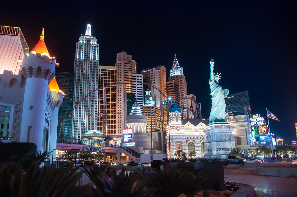 Las Vegas New York New York