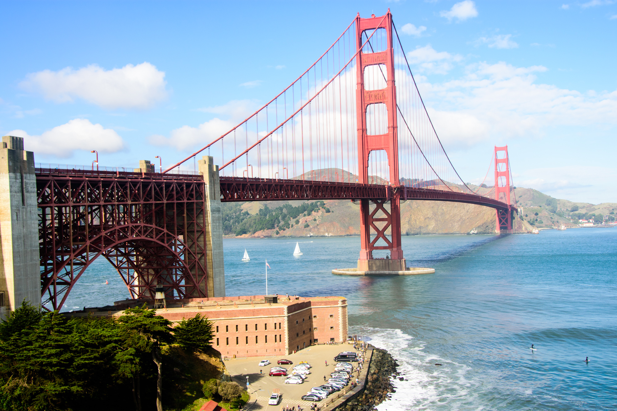 Golden Gate Bridge in full